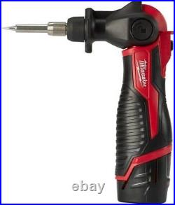 12-V Home Electronic Welding Cordless Power Tools Soldering Iron Station Red