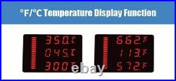 1200w Preheating Station With Heat Gun Electric Soldering Iron Pcb Desoldering