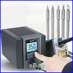 120W Lead-Free SMD Soldering Rework Station with Soldering Iron Tip Touch TS1200A