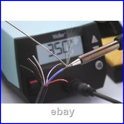 70W Digital Soldering Iron Machine Station Tool Kit Heat Resistant Silicon Cable