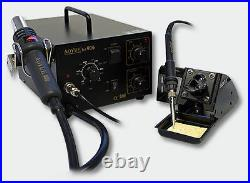 AOYUE Int906 Smd-Rework-Station Soldering Hot Air Soldering Iron Hairdryer Tray