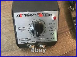 American Beauty soldering power station Model 105A3 with 4 tweezers Probes