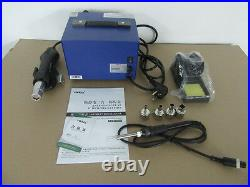 De-yihua 862d Smd Hot Air Rework Station With Soldering Iron New 220v