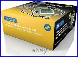 Eagle Professional Soldering Station with Temperature Control & Digital Display