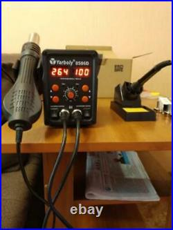 Electric Soldering Iron LED Digital Soldering Station Hot Air Welding Device