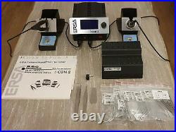 Ersa I-CON 2 Soldering Work Station & 8013 SMD Iron Tip Kit with Holder