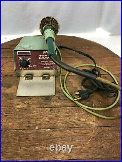 HexAcon No. 1002 Temp Controlled Therm-O-Trac Solder Station