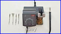 JBC Advanced AD 2700 75W soldering iron station with 5 x tips