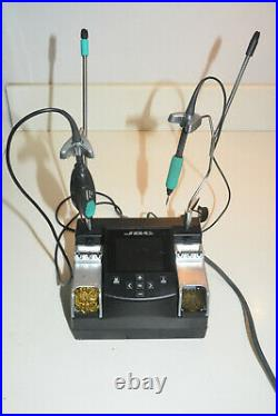 JBC NASE-1B SMD solder rework station with pencil and tweezer irons