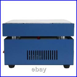 LED Microcomputer Electric Heating Plate Preheating Station 200x200mm 800W 220V