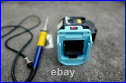 Makita 18v portable soldering station/iron with KSGER T12 console, OLED display