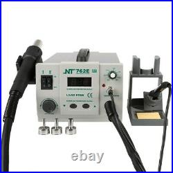 NT-762E 2in1 BGA Lead-free Adjustable Hot Air Rework Station Soldering iron xs90