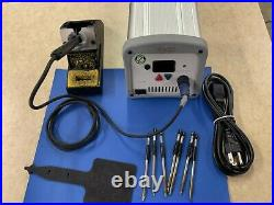 Pace ST-50 solder station with TD-100 Iron, holder and tips