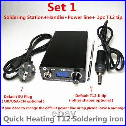 Quick Heating Soldering Station Welding Iron Electronics T12-952 Solder Stations
