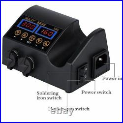 Soldering Station LCD Digital Display Welding Station For Cellphone Repair Tools
