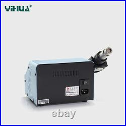 UK-YIHUA 992D+ soldering desoldering station with hot/cool air 110V US NEW