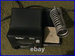 Weller MC5000 Soldering Station ESD Safe 120V with2 Weller Irons, PH1201 Stand