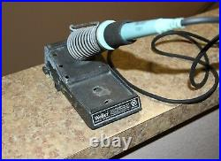 Weller PU120T soldering station and TC201T iron with stand Tested good