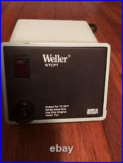 Weller Soldering Iron Station With Tips And Pads