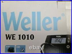 Weller WE 1010NA 1-Channel Soldering Station with soldering iron and safety