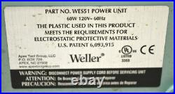 Weller WES51 Soldering Work Station Power Unit with PES51 Iron 350-850°F 60W 120V