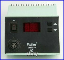 Weller WSD 80 WSD80 Soldering Station With WSP 80 80W 24V Iron Pencil +12 Tips