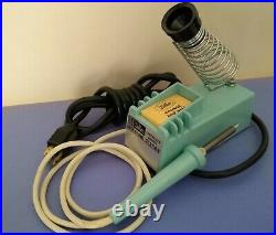 Weller WTCP Controlled Output 60w Soldering Station TPC-1 Handpiece & Extras
