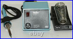 Weller WTCPT Soldering Station PU120T and TC201T Iron with Stand, Tips & Case