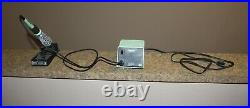 Weller soldering station PU120T, iron TC201T & stand Tested good