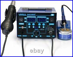 YIHUA 2In 1 Soldering Iron Hot Air Rework Station °F /°C with Multiple Functions