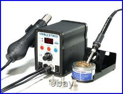 YIHUA 2in1 Soldering Solder Station SMD Rework Iron with Hot Air Gun 8786D