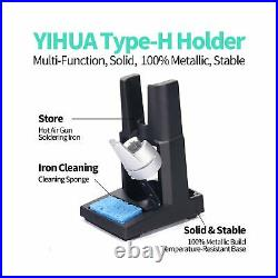 YIHUA 853D 5A-II 3 in 1 Hot Air Rework Soldering Iron Station and DC Power Su