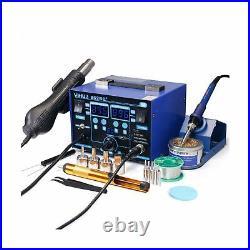 YIHUA 862BD+ SMD ESD Safe 2 in 1 Soldering Iron Hot Air Rework Station °F /°C
