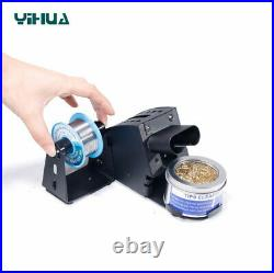 YIHUA 938D Tweezer Soldering Station SMD Rework Irons +2 Heating Core And Tips